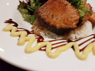 Grilled Crispy Salmon